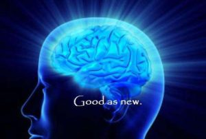 The Brain can be washed to be as white as snow. The body can as well. Total body reconciliation is on its way!